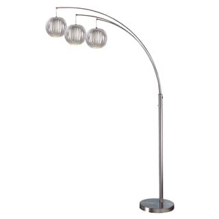 Lite Source 3-Light Deion Floor Arch Lamp