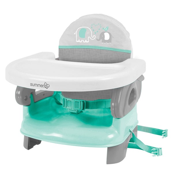 Summer Infant Elephant Fun Deluxe Comfort Plastic Folding Booster Seat