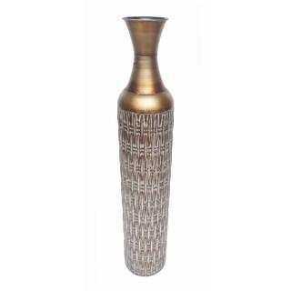 D'Lusso Designs Fiona Multicolored Metal 32-inch Floor Vase