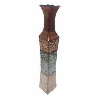 D'Lusso Designs Denise Metal 34-inch Floor Vase