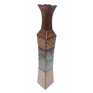 D'Lusso Designs Denise Metal 34-inch Floor Vase