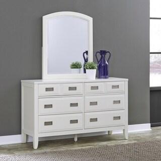 Newport 6 Drawer Dresser Mirror By Home Styles
