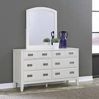 Newport 6 Drawer Dresser & Mirror by Home Styles