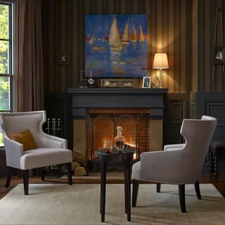 Wingback Chairs, Cream Living Room Furniture For Less | Overstock.com