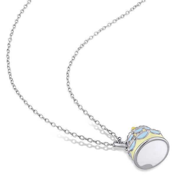 - Handmade Jewelry Vintage PD683378 925 Sterling Silver Bohemian Ana Silver Co Turkish Tube Agate Pendant 2 1//4