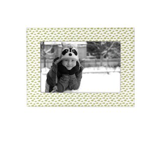 Reed & Barton Hazelnut Hollw 4x6 Leaves Frame