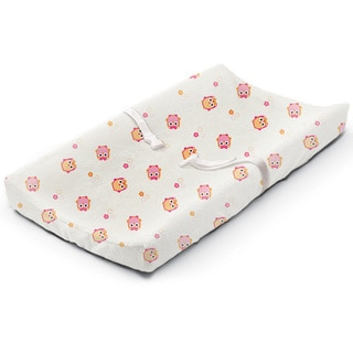 Summer Infant Owl Town Multicolored Microplush Changing Pad Cover