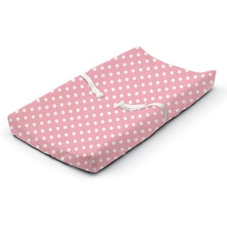 Summer Infant Pink Dots Ultra Plush Changing Pad Cover