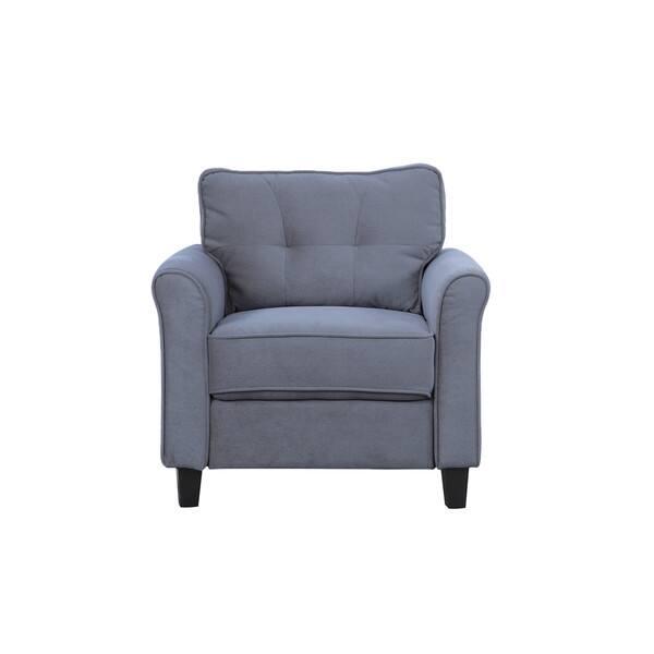 Shop Classic Ultra Comfortable Linen Fabric Living Room ...