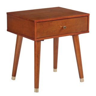 Cupertino Mid-Century Accent Side Table