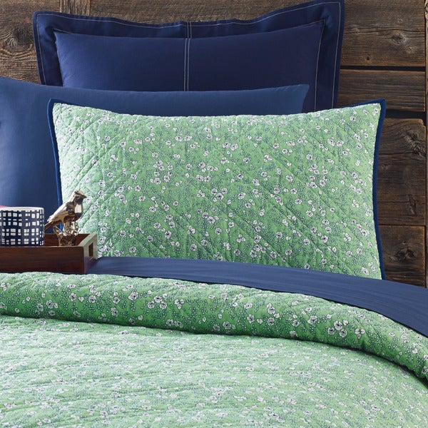 4ddc6929f Shop Tommy Hilfiger Vineyard Quilted Standard Sham - Free Shipping ...
