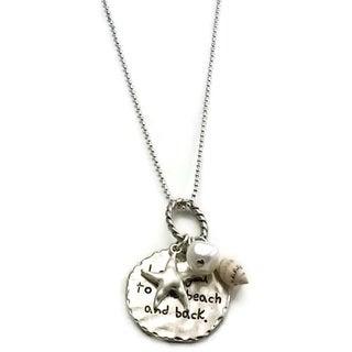 Mama Designs Handmade Inspirational Beach Charm Necklace