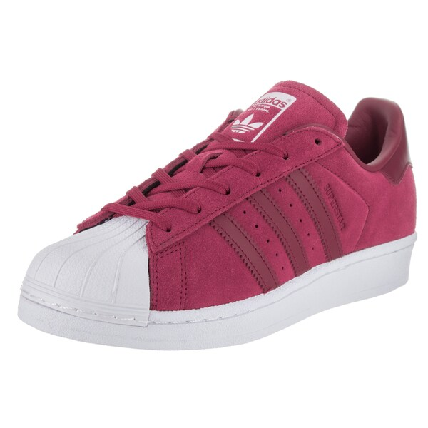 Shop Adidas Women s Superstar W Originals Pink Suede Casual Shoes ... ad16863438