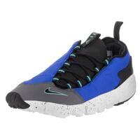 Nike Men's Air Footscape NM Hyper Cobalt and Black Textile Training Shoes
