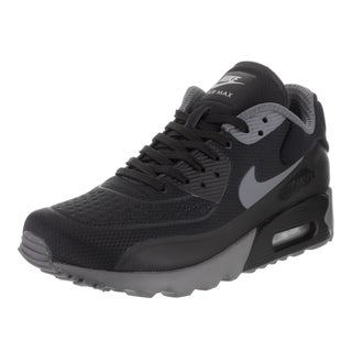 Nike Men's Air Max 90 Ultra SE Black Synthetic Leather Running Shoe