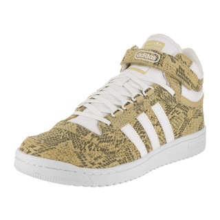 Adidas Men's Concord II Mid Originals Beige Leather Basketball Shoes