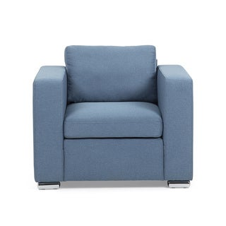 Fabric Upholstered Armchair - HELSING