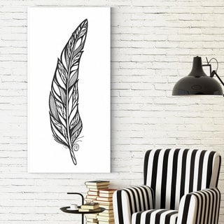 Wexford Home Dmitry Andruz 'Doodle Feather 2' Print