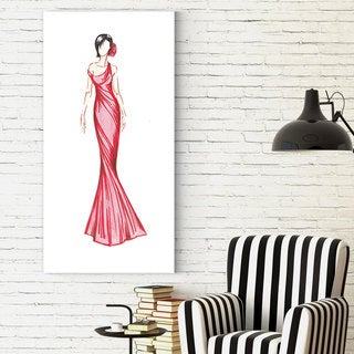 Wexford Home Dimity Andruz's 'Red Dress 1' Canvas Artwork