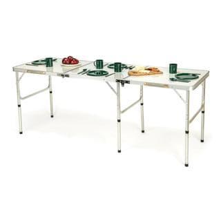 Trademark Innovations Aluminum Portable Lightweight Folding Table