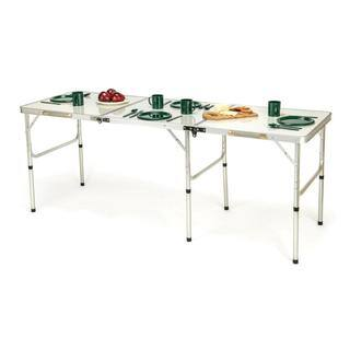 Trademark Innovations Aluminum Portable Lightweight Folding Table|https://ak1.ostkcdn.com/images/products/13768759/P20422469.jpg?impolicy=medium
