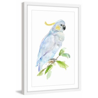 Marmont Hill - 'Cockatoo' by Michelle Dujardin Framed Painting Print - Multi