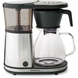 Bonavita Glass Carafe 8-Cup Stainless Steel Coffeemaker