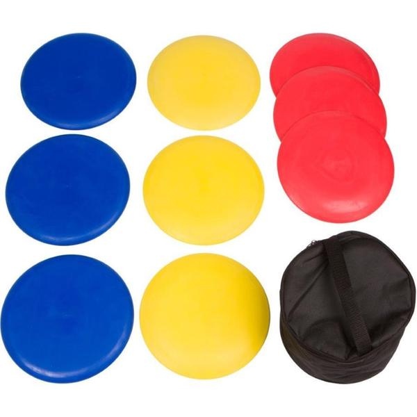 Trademark Innovations 9-piece Disc Golf Set With Carry Bag
