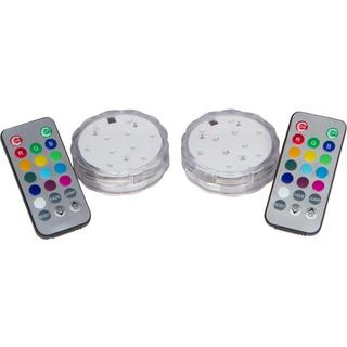 Trademark Innovations Remote Controlled LED Lights for Disc Golf Basket (Basket not Included) (Set of 2)