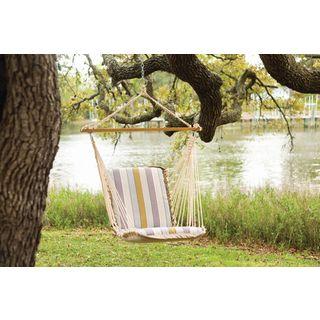 Pawleys Island Hammocks Milano Dawn Polyester Cushioned Single Swing