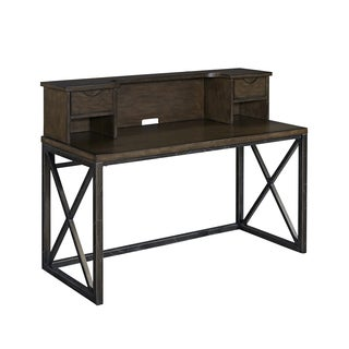 Xcel Office Desk with Hutch by Home Styles