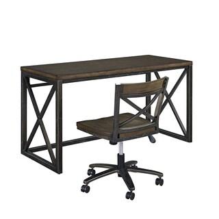 xcel office desk u0026 swivel chair by home styles