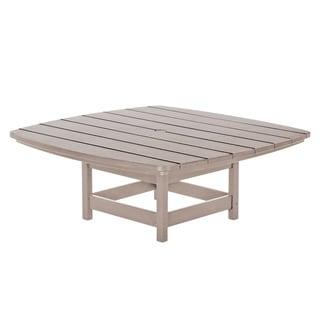 Conversational Table - Weatherwood