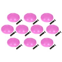 Simply Sports Pink PVC 13-inch Diameter Fitness and Balance Discs (Pack of 10)