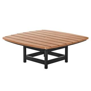 Conversational Table - Black and Cedar