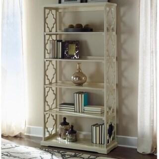 White Rubberwood Turner Bookcase