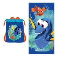 Pixar Finding Dory 2 Piece Beach Towel Set