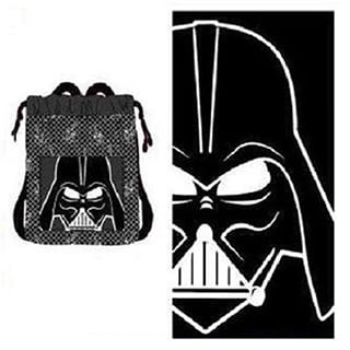 Disney Star Wars Darth Vader 2-piece Beach Towel Set
