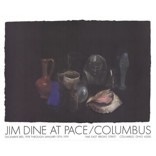 Jim Dine 'Still Life' Poster, 25 x 31.5 inches