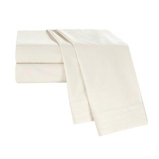 White Sand Tencel Blend Sheets