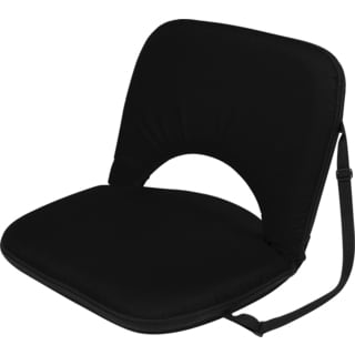 Black Portable Multi-Use Recliner Seat