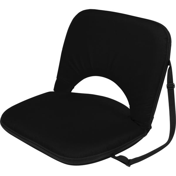 Black Portable Multi-Use Recliner Seat