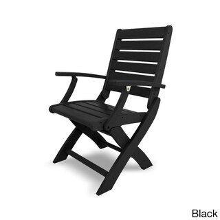 POLYWOOD Polyethylene Signature Folding Chair (More options available)