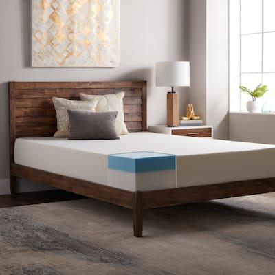 Select Luxury 10-inch Gel Comfort Foam Mattress - White