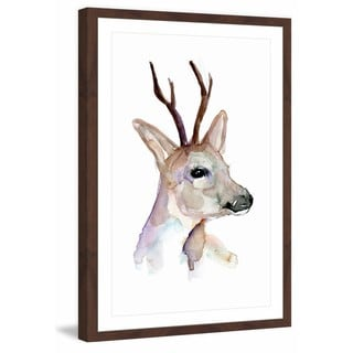 Marmont Hill - 'Rubock' by Michelle Dujardin Framed Painting Print