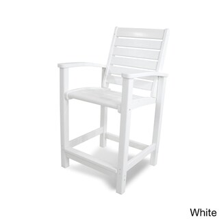 POLYWOOD Signature Counter-height Chair (More options available)