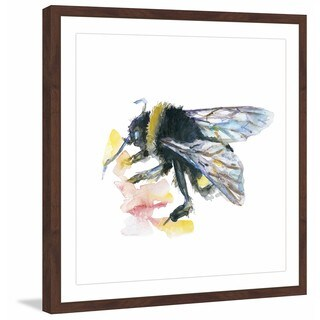 Marmont Hill - 'Bee' by Michelle Dujardin Framed Painting Print