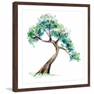 Marmont Hill - 'Bonsai 2' by Michelle Dujardin Framed Painting Print