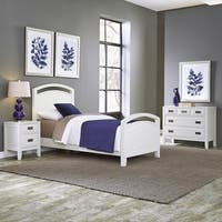 Newport Twin Bed; Night Stand; & Chest by Home Styles