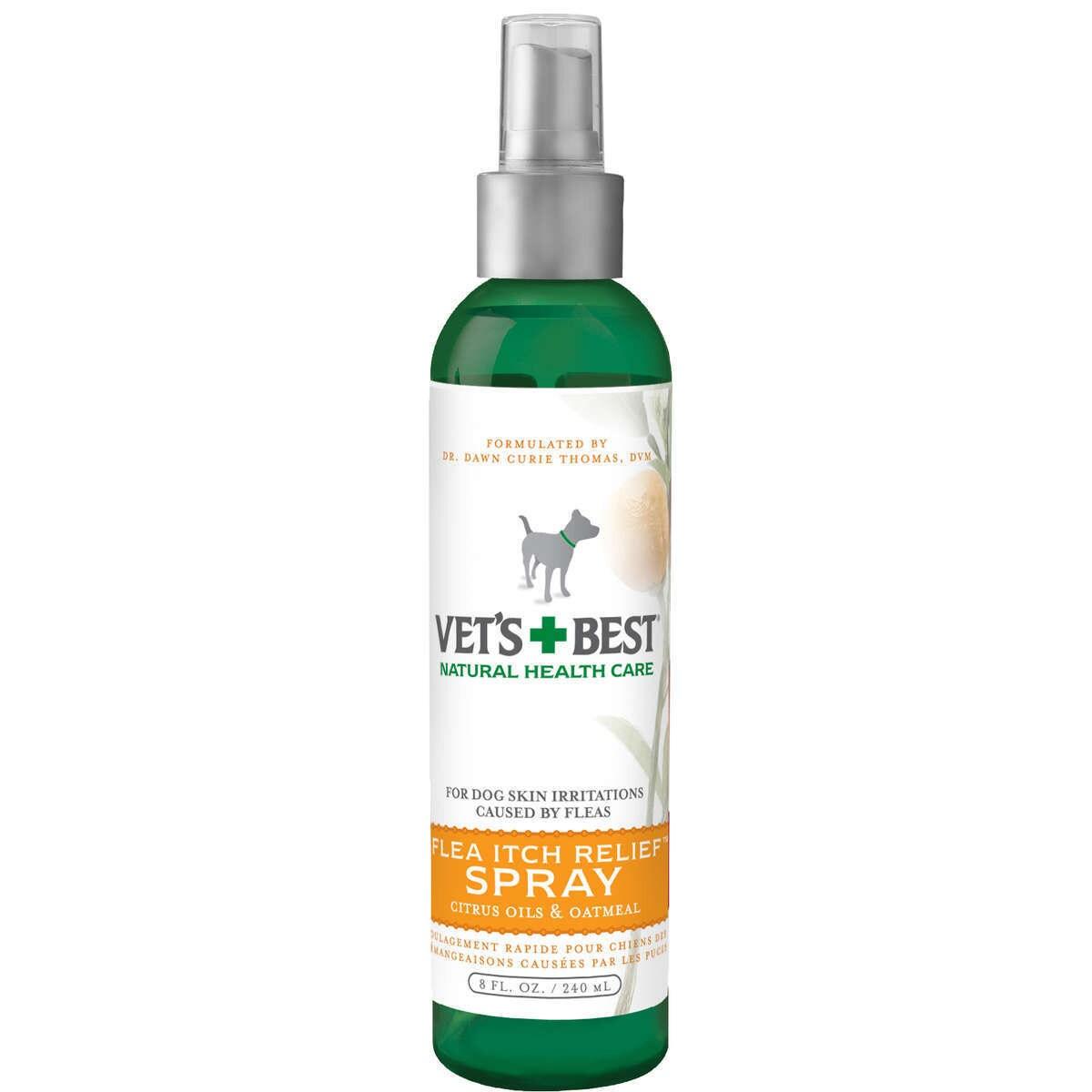 Vet's Best Flea Itch Relief Dog SpraY (8 ounces), White/G...